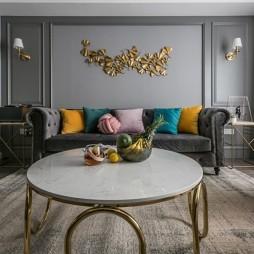 浪漫轻奢—客厅图片