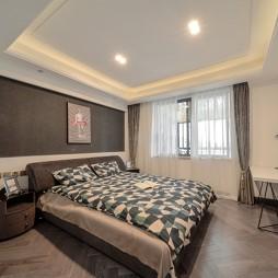 250平中式现代—卧室图片
