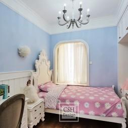 120平米美式经典—女孩房图片