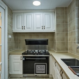 120平米美式经典—厨房图片