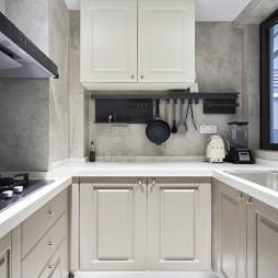 复古西洋风:厨房图片