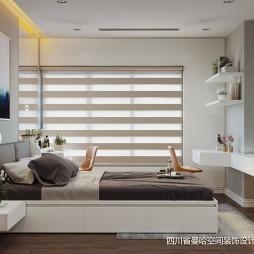 中式与简约风格的另类演绎—卧室图片
