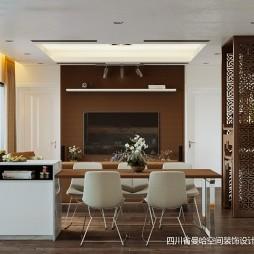中式与简约风格的另类演绎—餐厅图片