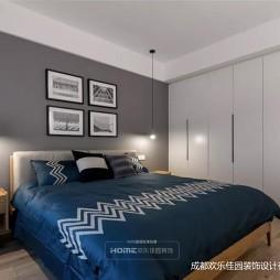 150平米现代简约——卧室图片