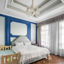 绿城蓝庭法式古典别墅设计—儿童房图片