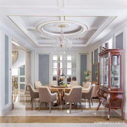 绿城蓝庭法式古典别墅设计—餐厅图片