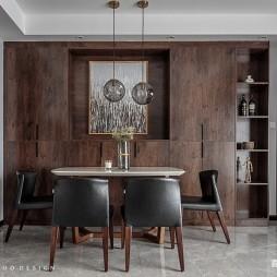 82平米现代简约—餐厅图片