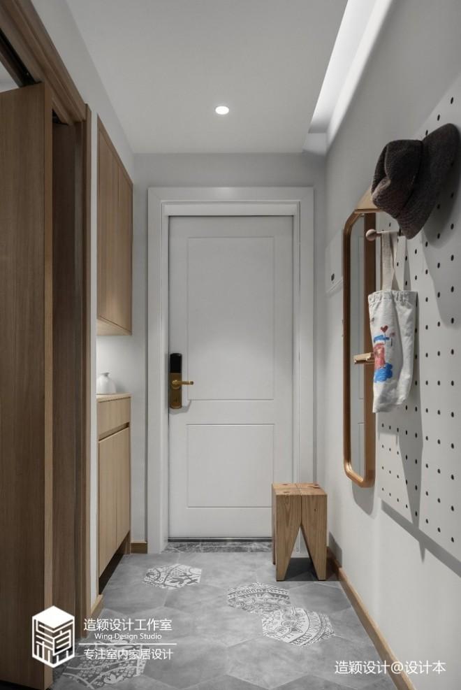 72平米日式风格—玄关图片