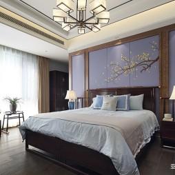 中式现代别墅豪宅—卧室图片