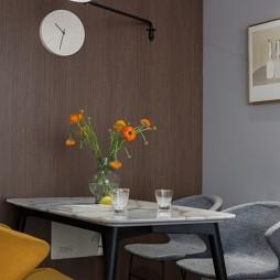 90平米现代简约—餐厅图片