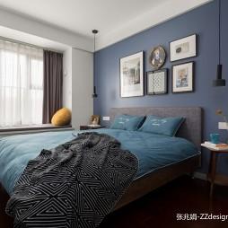 90平米现代简约—卧室图片