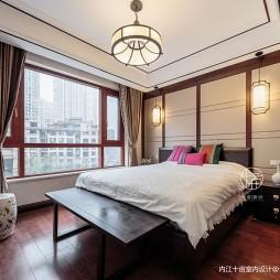 124平米中式现代—卧室图片