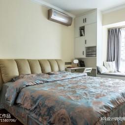 103平米现代简约—卧室图片