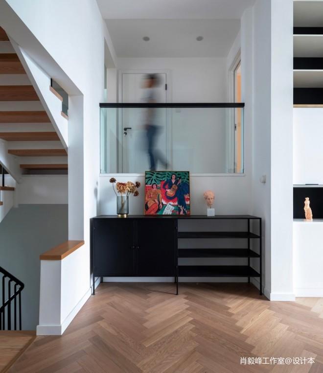 半封闭式阳台效果图_别墅豪宅240平米装修案例_效果图 - 低饱和度配色,让家更有高级 ...