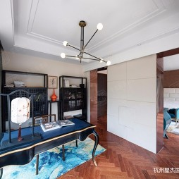 玛德兰斯现代轻奢风格装修—书房图片