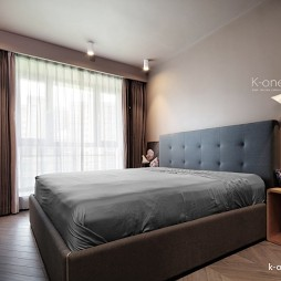 60平米现代简约—卧室图片