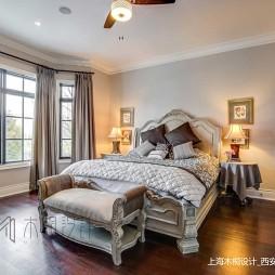 美式经典别墅豪宅—卧室图片
