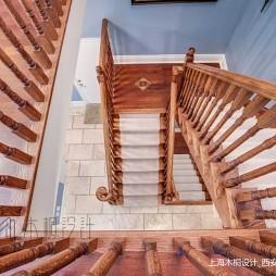 美式经典别墅豪宅—楼梯图片