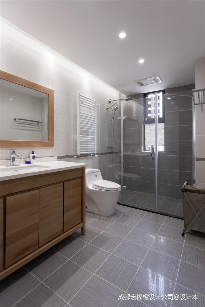 日式禅意空间—卫生间图片