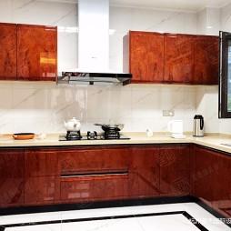 新中式风格别墅装修—厨房图片