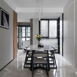 133平米现代简约—餐厅图片