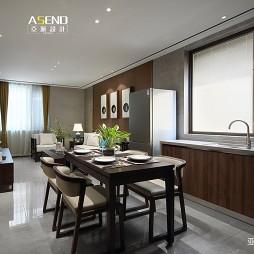 90平米中式现代—厨房图片