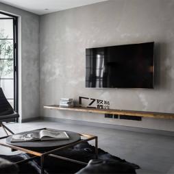 玖柞原创—空境——电视背景墙图片