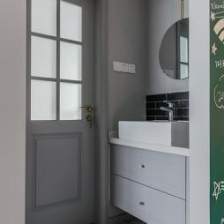 75平米北欧极简——卫生间图片
