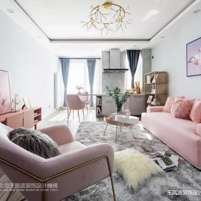 《甜美夏日》王凤波装饰——客厅图片