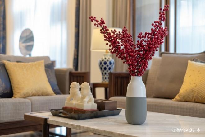 新中式别墅软装设计_3723995