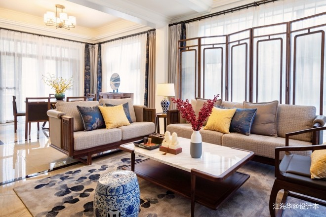 新中式别墅软装设计_3723999