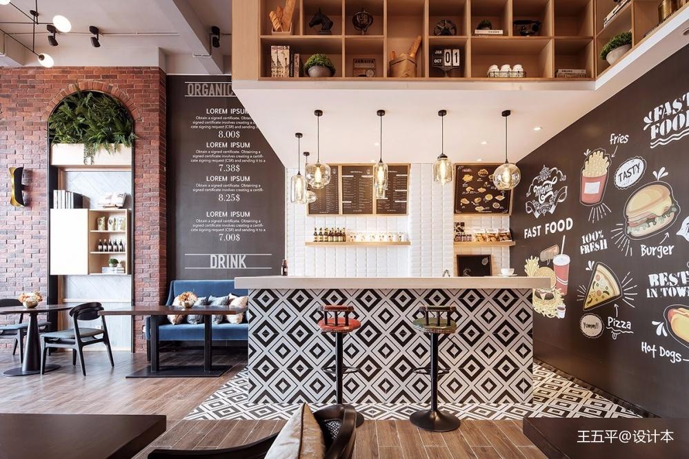 广西贺州钟山彰泰城咖啡厅——吧台图片