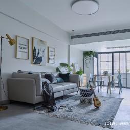 301设计|实用简约网红家居——客厅图片