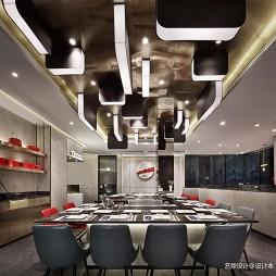 餐饮空间设计,艺鼎新作,大渔铁板烧——座位区图片