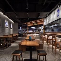 餐饮空间设计:秦喜·肉夹馍——座位区图片