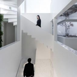 镜花园——楼梯图片