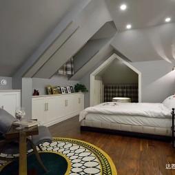 圣堡别墅的达恩大家居——阁楼卧室图片