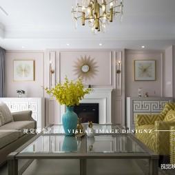 美式经典-素·尚——客厅图片