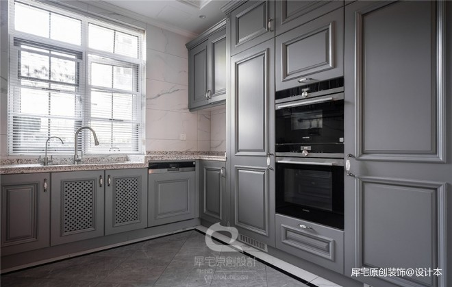 600平独栋别墅豪宅——厨房图片