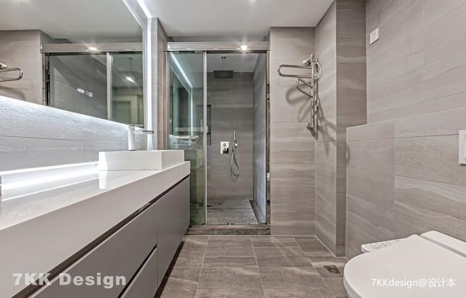 宝华现代城黑白灰品质家居——卫生间图