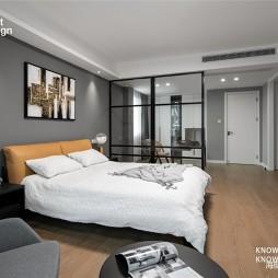 200平米现代简约——卧室图片