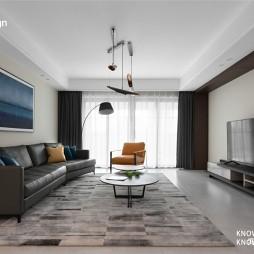 200平米现代简约——客厅图片