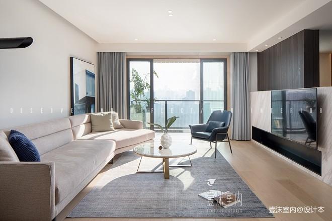现代简约—窗明几净——客厅图片