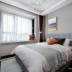 137平米现代简约——卧室图片