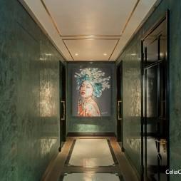 曼谷瑰丽酒店——走廊图片