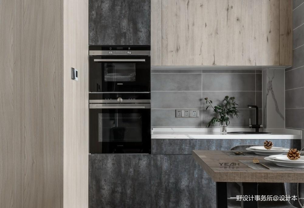 一野设计—140m² |有颜色的黑白灰——厨房图片