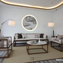水墨山色  茶香满溢 170㎡中式会所——茶室图片