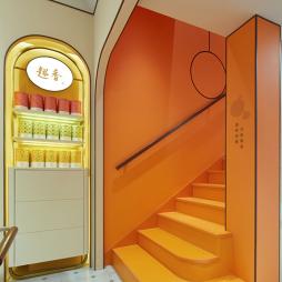 趣香饼家——楼梯图片