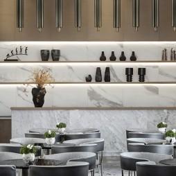 用艺术与自然演绎一出与空间有关的戏剧——餐厅图片