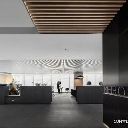 1400平米办公空间——办公区图片